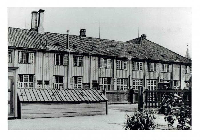 Østhuset sett fra gaten